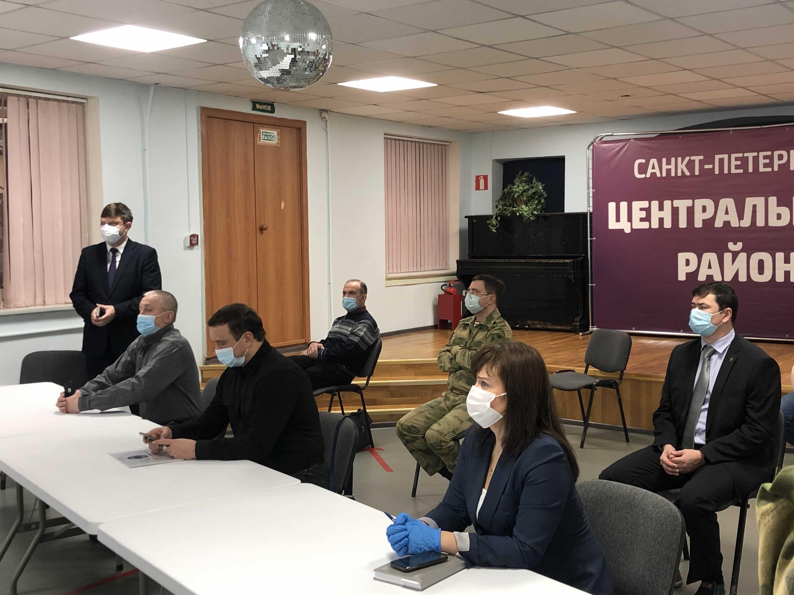Военно-патриотическое воспитание молодежи – в центре внимания «Перспективы» и Центрального района Санкт-Петербурга!