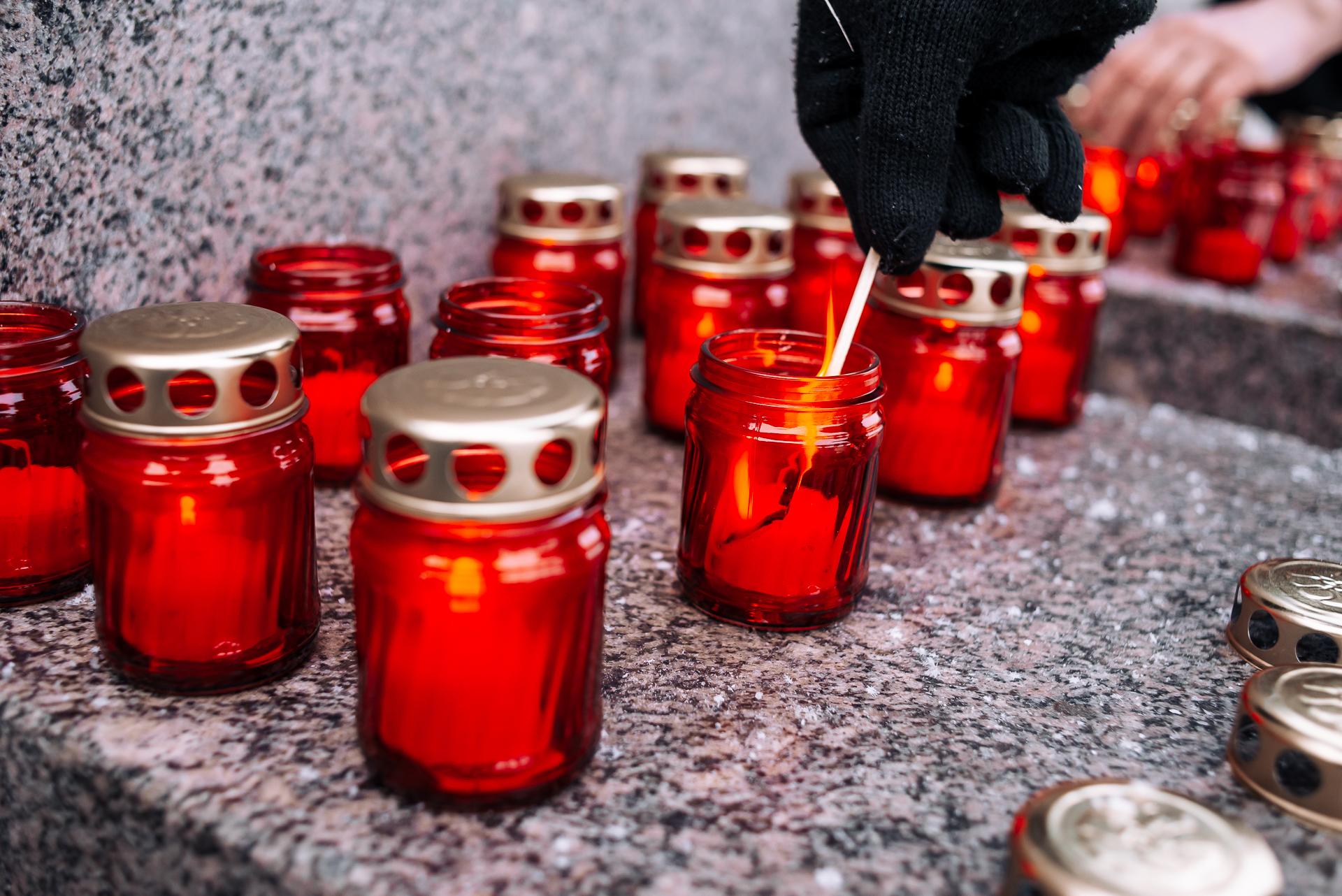 Состоялась патриотическая акция «Свеча памяти».