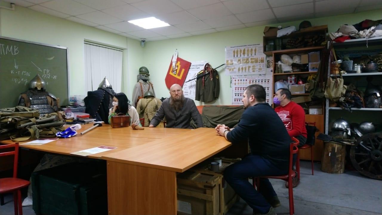 Встреча с Бурлаковым С.В.