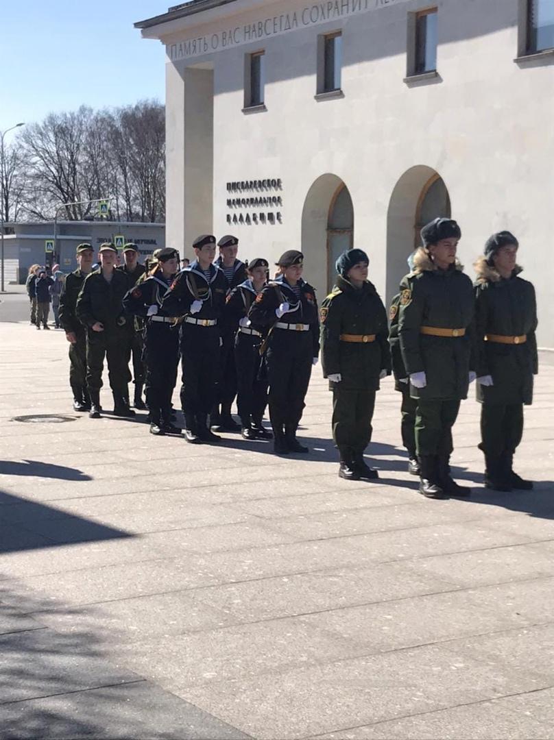 Воспитанники «Перспективы» представят Центральный район на Параде Победы